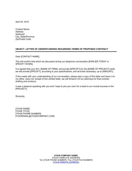 letter of agreement format choice image letter samples format