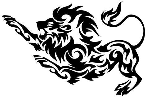 Lion Tuning Aufkleber by Nr193 Tribal Tattoo Tiger Lion Panther Decal Vinyl