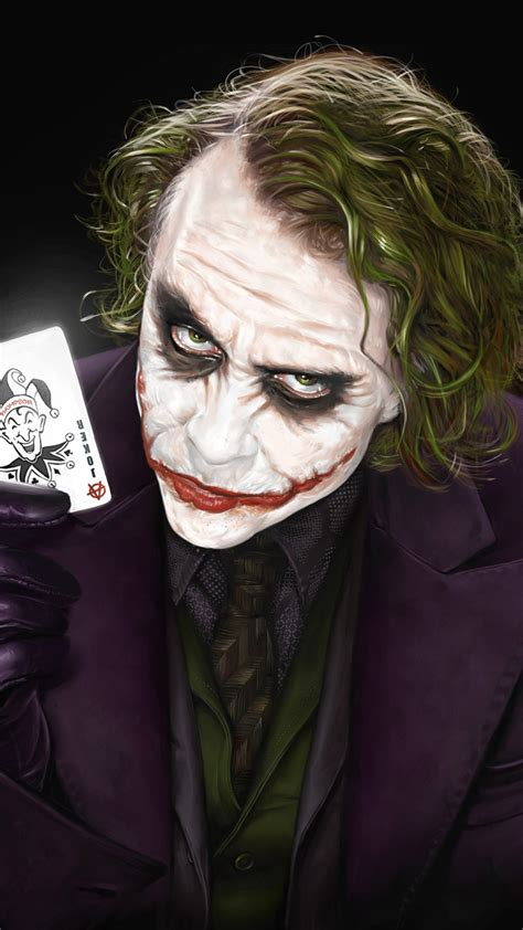 wallpaper joker heath ledger  dark knight hd