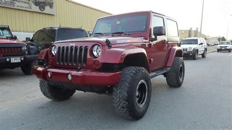 burgundy jeep dubizzle dubai wrangler jeepers edition jeep wrangler