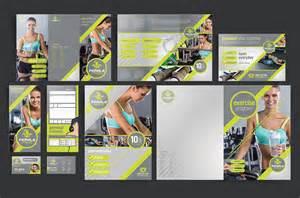 Fitness Brochure Templates by Fitness Brochure Template Pack Brandpacks