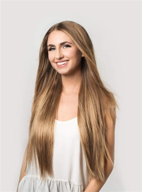 luxy hair clip in hair extensions dirty blonde color 18 160 grams