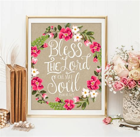 bible verse scripture wall decor by littleemmasprints