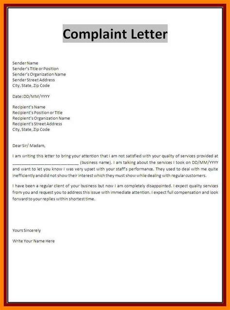 pengertian business letter block format 7 exle complaint letter block style bike friendly