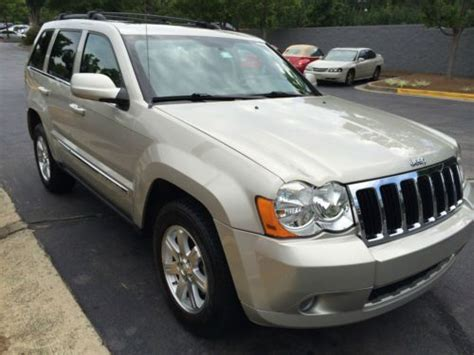 sell used 2008 jeep grand cherokee limited sport utility 4 door 4 7l original owner in marietta