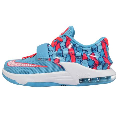 basketball shoes kds nike kd vii 7 gs frozens kevin durant blue youth