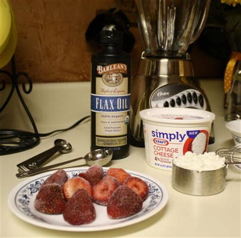 the flaxseed oil and cottage cheese diet
