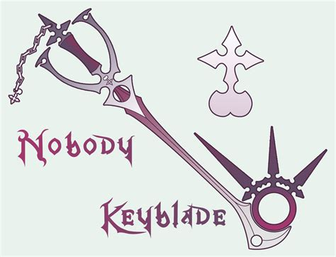 nobody keyblade by n647 on deviantart