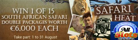 Win Money South Africa - win a south african safari at all slots casino