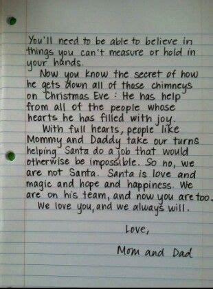 secret letter secret of santa letter seasonal