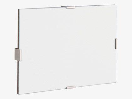 frameless glass clip frame home sweet home