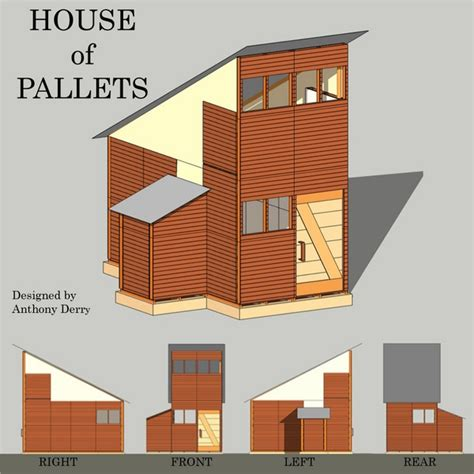 pallet house designs pallet house plans and ideas give new life to old wooden pallets