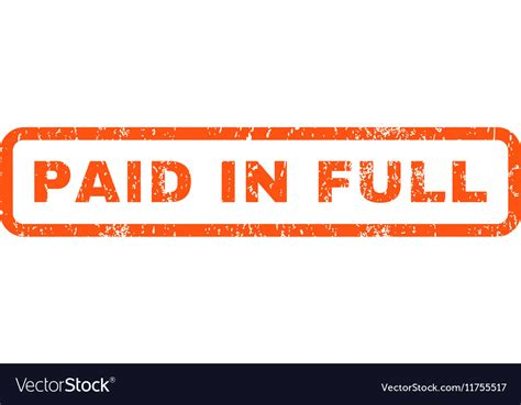 rubber st paid paid in st vector www pixshark images