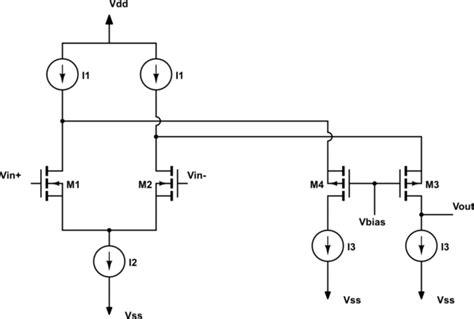 electronic inductor circuit using cascode transistors transistors cmos dual of cascode circuit electrical engineering stack exchange