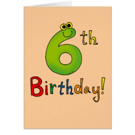 6 year birthday card template boys 6th birthday cards boys 6th birthday card templates