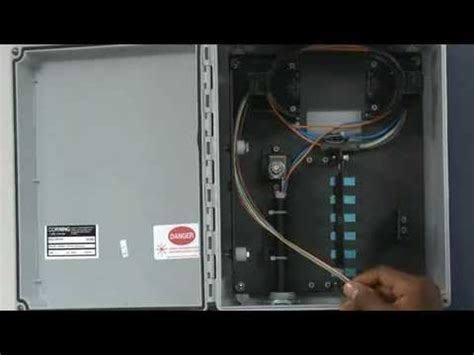 fiber fan out kit how to install a fiber fan out kit in a corning edc