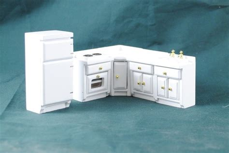 kitchen dollhouse furniture half scale kitchen set dollhouse miniature furniture