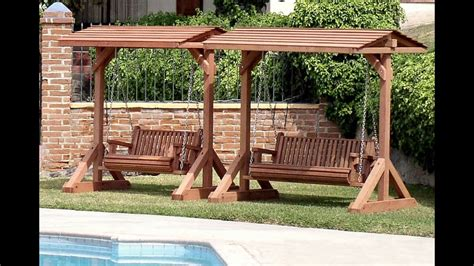 swinging patio bench garden swing bench garden swing bench plans