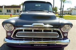 1957 chevy chevrolet bed pro touring show truck