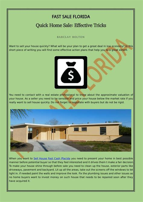 ppt home sale effective tricks powerpoint