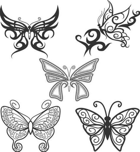 butterfly tattoo no outline simple butterfly outline tattoo butterfly tattoo designs