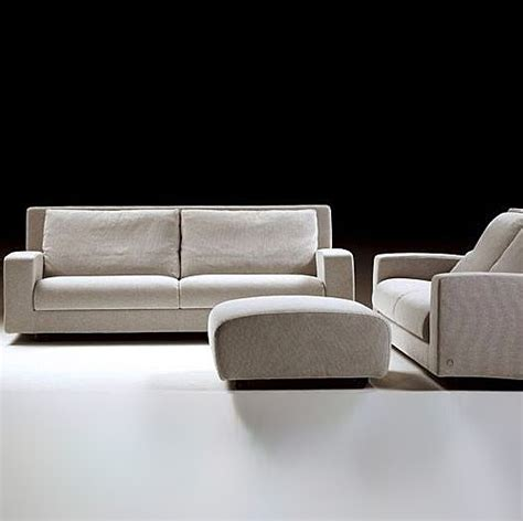 poof couch poof on a frame of solid wood upholstered in leather or