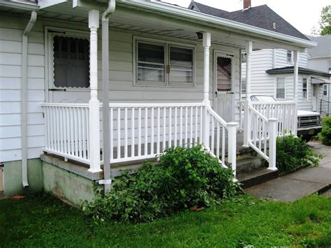house porches adding a porch to a ranch style house before and after