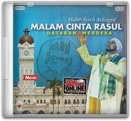habib syech as seggaf 187 malam cinta rasul vol 3 dvd