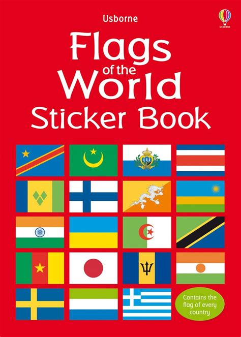 flags of the world book flags of the world sticker book at usborne books at home