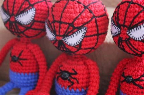crochet pattern for spiderman eyes amigurumi spiderman crochet pattern amigurumi today