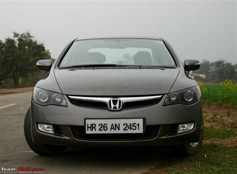 grey honda my grey shark honda civic v mt 142 500 kms crunched