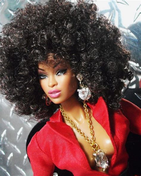 black doll hair american and other fashion dolls