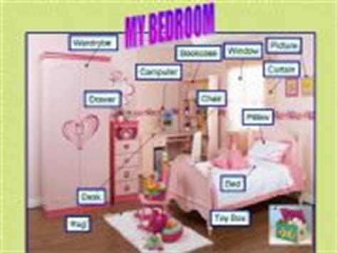 things in a bedroom esl english powerpoints things in my bedroom