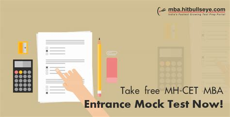 Mba Mockup by Take Free Mh Cet Mba Entrance Mock Test Now