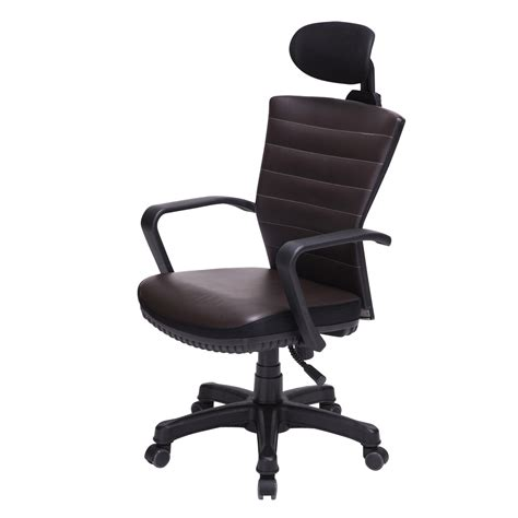 spine korean chair ergonomic office chair seat adjustable height leather back