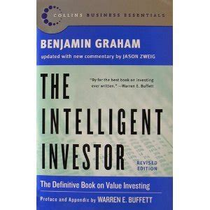 intelligent investor the definitive the intelligent investor the definitive book on value