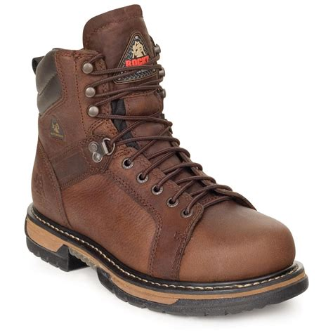 s rocky 174 iron clad waterproof work boots 186737