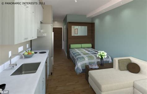 What Does 300 Square Feet Look Like | the tiny 300sq ft apartments that could be coming soon to
