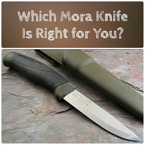 knife models mora knife models explained and compared