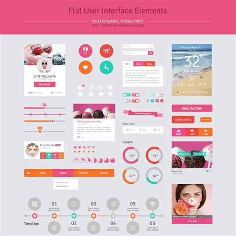 ui templates 20 best free psd website templates for business portfolio