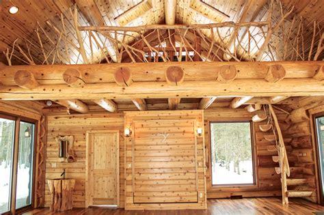 log cabin interiors photo gallery michigan cedar a log yoga studio in michigan
