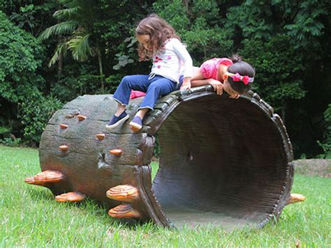 Landscape Structures Log Crawl Tunnel Hollow Log Climber And Tunnel Product Ods