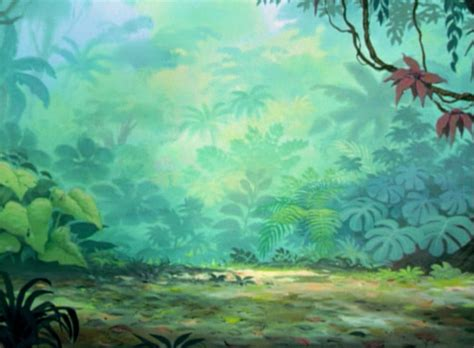 Kaos Animasi Jungle Book animation backgrounds