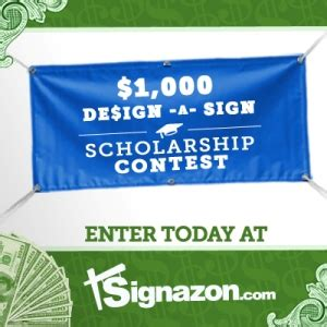 design contest scholarship design your dreams with signazon com s 1 000 scholarship