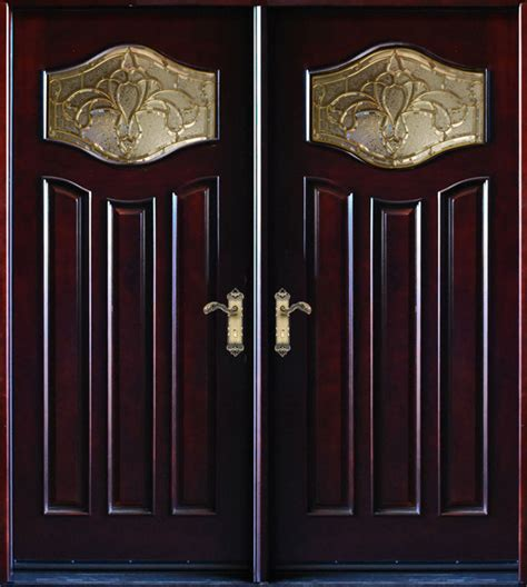 Exterior Door Swing Exterior Front Entry Wood Door Mp Dm80 30 Quot X80 Quot X2 Right Swing In Traditional