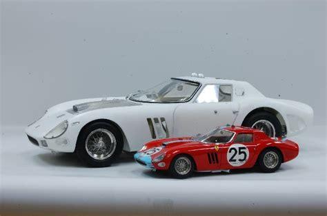 model factory hiro  car model kit  ferrari gto  version