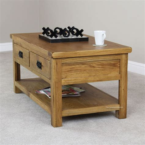 Table With Drawers by Adding Some Charm With Rustic Coffee Table With Drawers