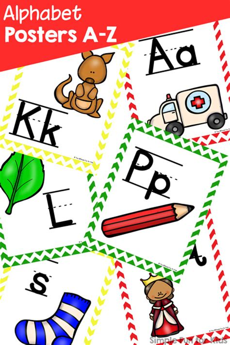 printable alphabet poster upper and lower case colorful cars alphabet cards printable simple fun for kids