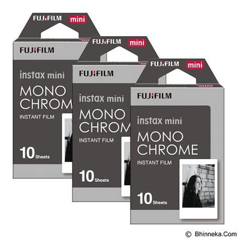 Kertas Polaroid Fujifilm Mini Intak Paper jual fujifilm instax paper monochrome three pack murah bhinneka mobile version