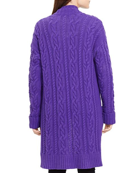 Cable Knit Open Front Cardigan by ralph cable knit open front cardigan in